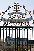 Gateway to La Mission Haut-Brion, Pessac-Leognan, France