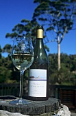 Bottle of Chardonnay, Leeuwin Estate, Margaret River, Australia