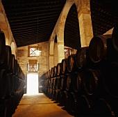 Wine cellar of Emilio Lustau, Jerez, Spain