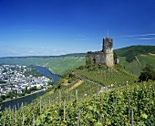 Burg Landshut & Schlossberg, Bernkastel-Kues, Mosel, Germany