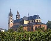 Liebfrauenkirche with 'Liebfrauenstift-Kirchenstück' site, Worms, Germany