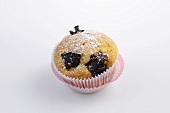 A plum muffin