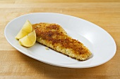 Breaded haddock