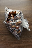Chestnuts in a plastic bag