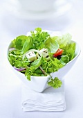 Green salad with feta