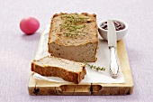 Pâté (made from chicken, pork, chicken liver and mushrooms)