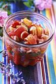 Ratatouille in a jar