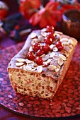 Dried fruit loaf for Christmas
