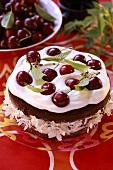 Cherry gateau