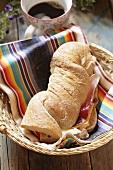 Ciabatta (Italian white bread)