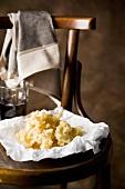 Frittelle di novellame (Whitebait fritters, Italy)