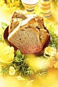 Banana bread for Easter