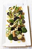 Artichoke and truffle salad
