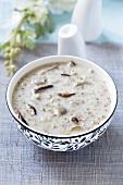 Barley soup with mushrooms (Croatia)