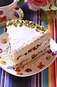 Torta primavera (Cake with candied fruit, Italy)