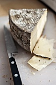 Tomme de Savoie (French Alpine cheese)