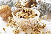 Sauerkraut with dried mushrooms for Christmas (Poland)