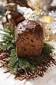 Spiced loaf cake for Christmas