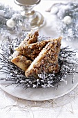 Nut triangles for Christmas