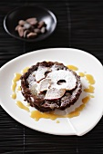 Chocolate apple tart