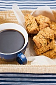 Muesli buttermilk rusks with coffee (South Africa)
