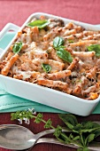 Tuna and macaroni bake