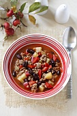 Mince and vegetable stew