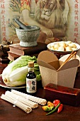 Ingredients for Asian dishes