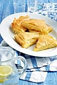 Galaktobouriko (Greek custard tart)