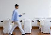 Waiter in Hotel Casa Angelina (Praiano, Italy)