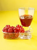 Raspberry and redcurrant jelly