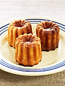 Cannelés bordelaises (Traditional French cakes)