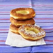 Doughnuts on paper bag