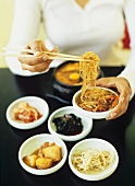 Korean dishes and foods