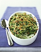 Green bean gratin