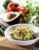 Avocado dip (to accompany barbecued food)