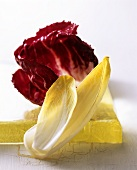 Salad leaves (chicory and radicchio)