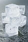 Mehrere Eiswürfel