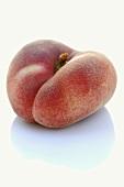 A flat peach