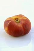 A flat nectarine