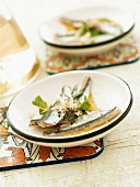 Sardines with vinaigrette