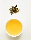 Japanese rice tea (Genmaicha)