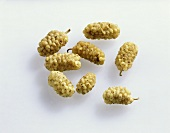 Dried white mulberries (ingredient in Afghanistan, Iran)