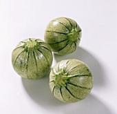 Drei Rondini (ähnlich der Zucchini aber nicht roh essbar)