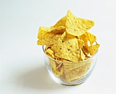 Corn chips in a glass
