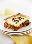 Summery vegetable lasagne