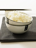 Sushi rice in a bowl