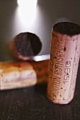 Cork of a 1990 Château Mouton Rothschild