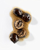Black walnuts (unripe pickled walnuts) with syrup