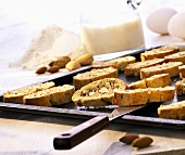Cantuccini (almond biscuits), Tuscany, Italy